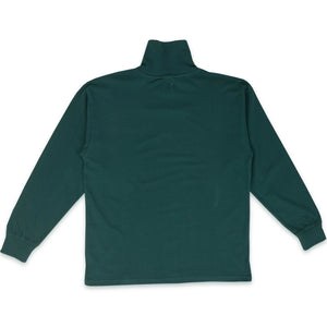 POLAR SKATE CO. – SCRIPT TURTLENECK (DARK GREEN)