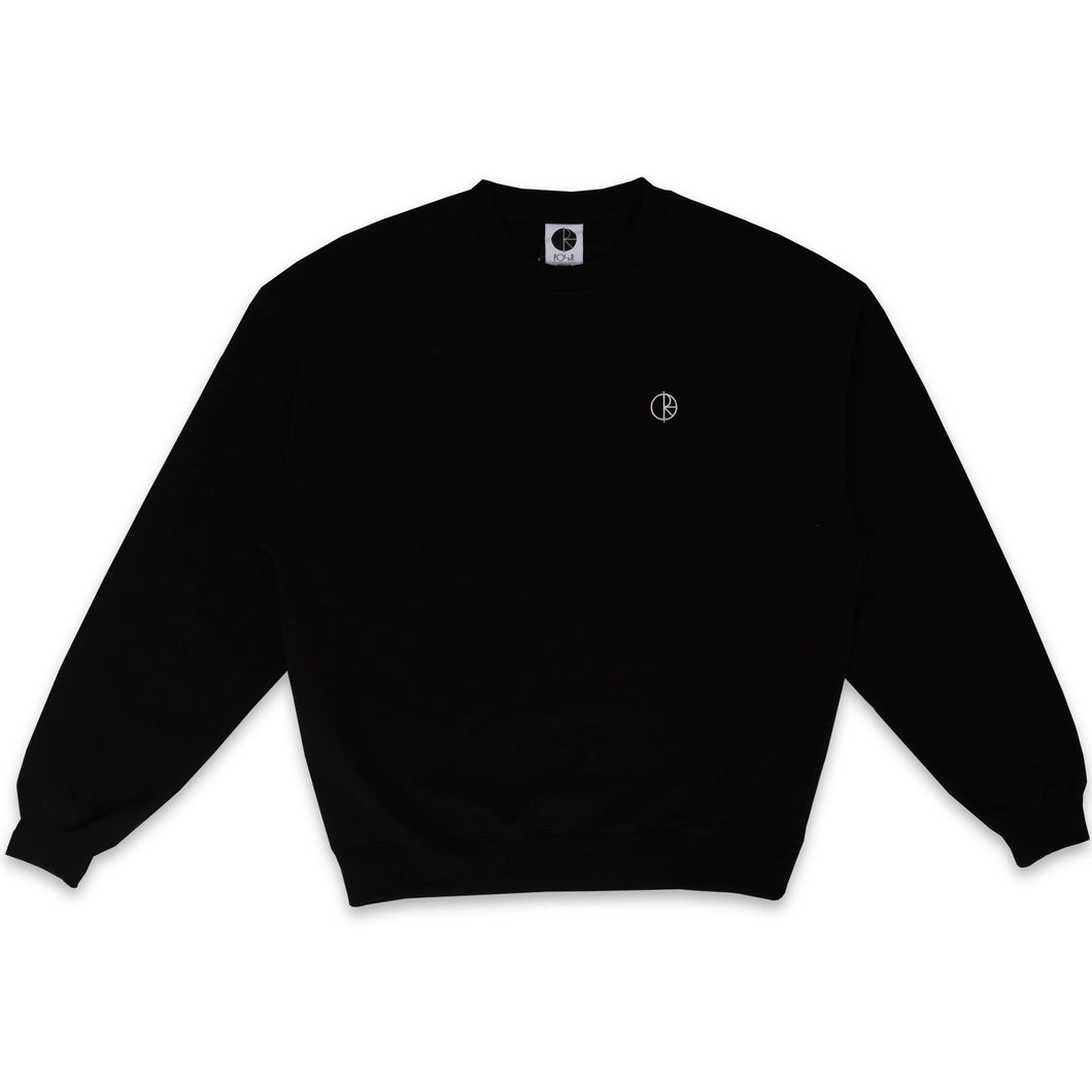 POLAR SKATE CO. – TEAM CREWNECK (BLACK)