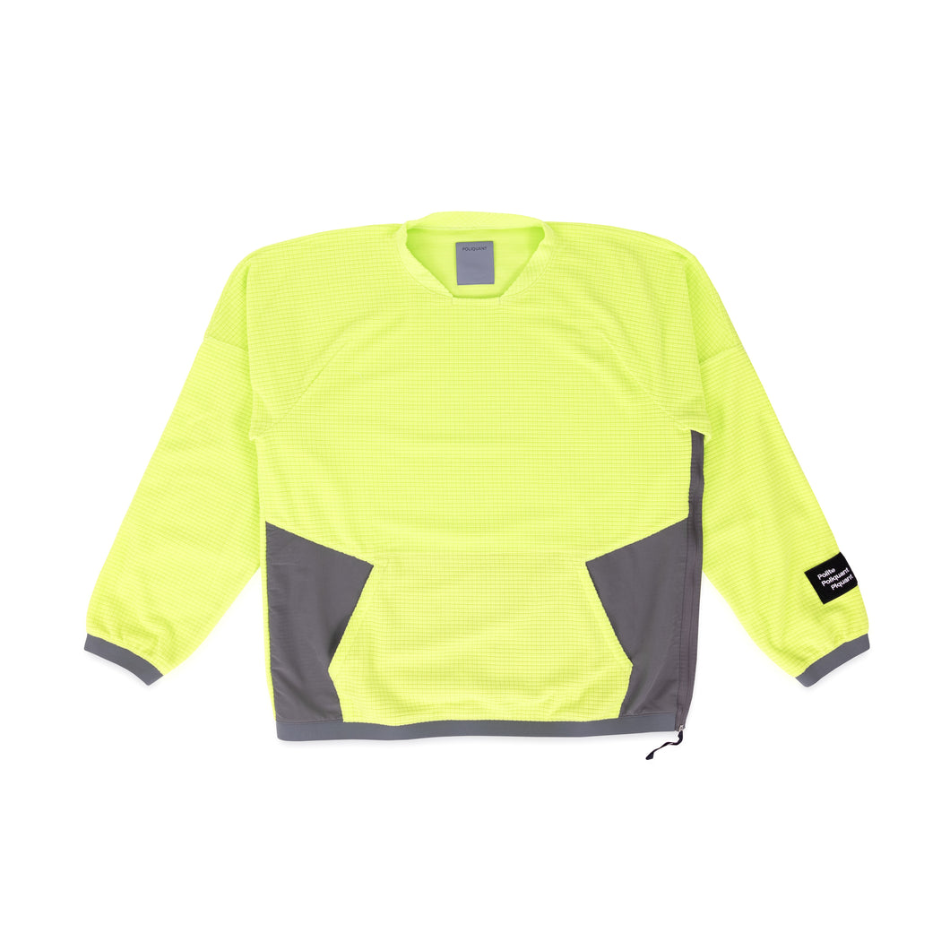 POLIQUANT – FLEECE PULLOVER (YELLOW)