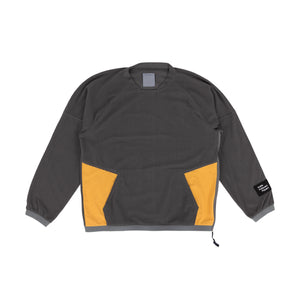 POLIQUANT – FLEECE PULLOVER (GRAY)
