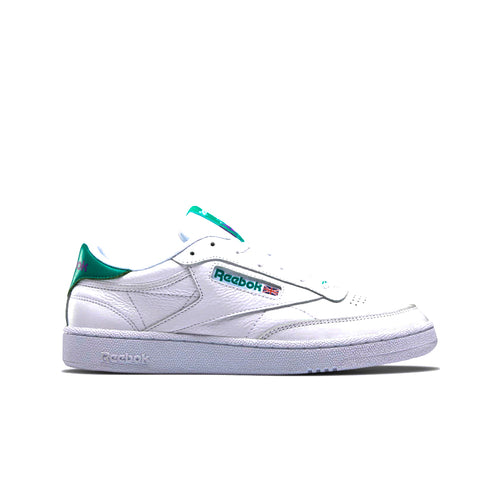 REEBOK – CLUB C 85 MU (WHITE/EMERALD/GRAPE)