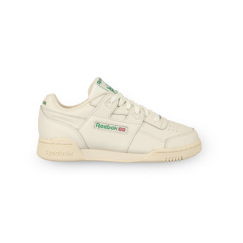 REEBOK – WORKOUT LO PLUS W (CHALK/PAPER WHITE/GREEN)
