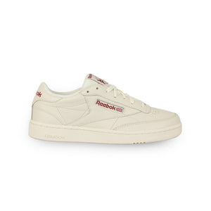 REEBOK – CLUB C 85 (CHALK/METEOR RED)