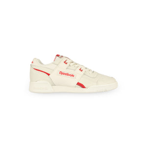 REEBOK – WORKOUT LO PLUS W (CHALK/RED ROSE)