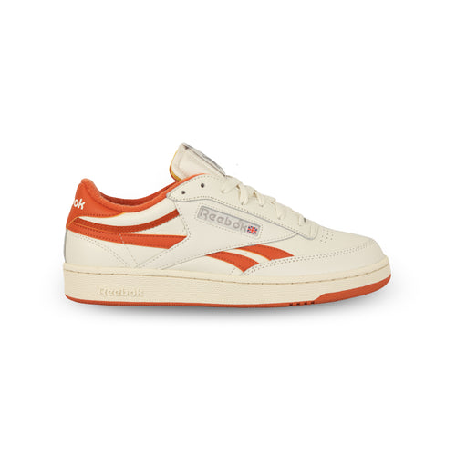 REEBOK – CLUB C REVENGE PLUS SHOES (CHALK/MARS DUST)