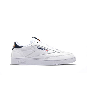 REEBOK – CLUB C 85 MU (WHITE/NAVY/ORANGE)