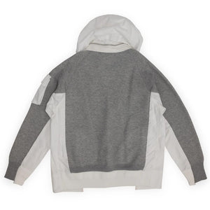 SACAI – SPONGE SWEAT HOODIE (LIGHT GRAY)