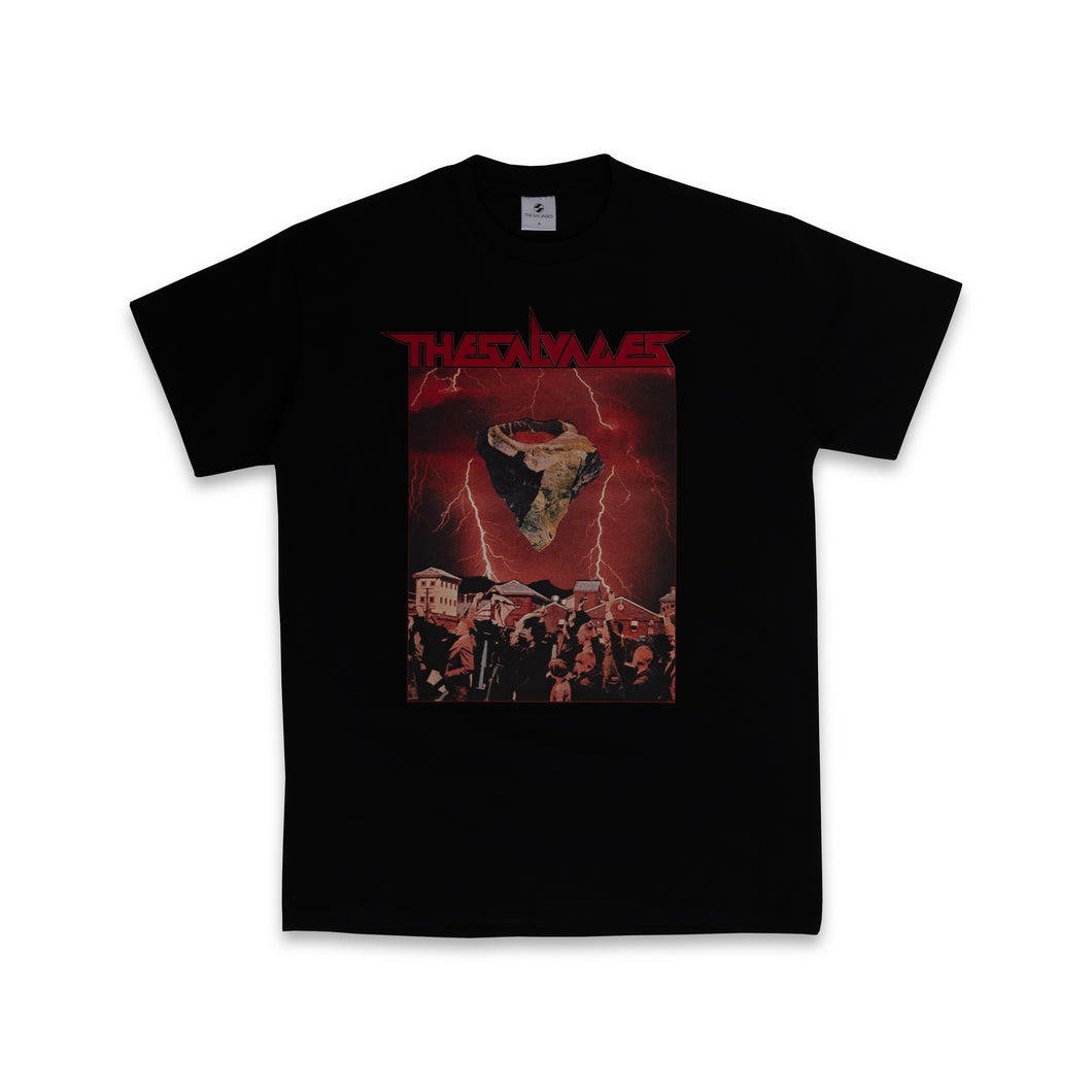 THE SALVAGES – SPACE ROCK 3 TEE (BLACK)