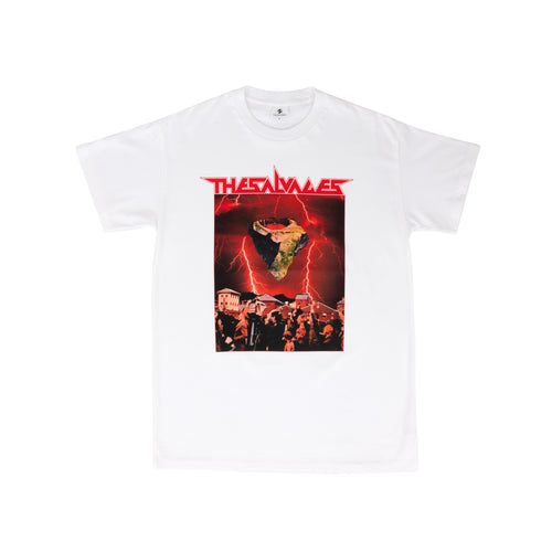 THE SALVAGES – SPACE ROCK 3 TEE (WHITE)