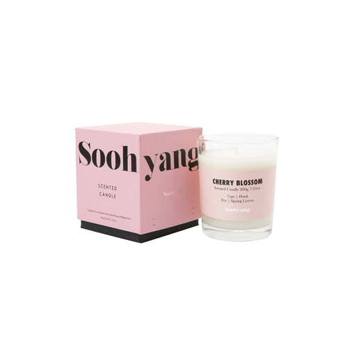 SOOHYANG – CHERRY BLOSSOM CANDLE (200G)