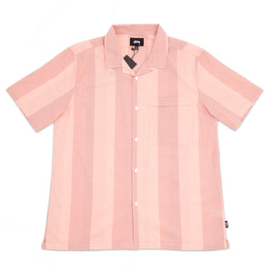 STÜSSY – BOLD STRIPE SHIRT (PEACH)