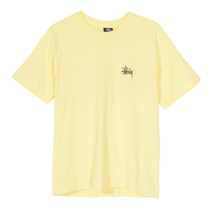 STÜSSY – BASIC TEE (LEMON)