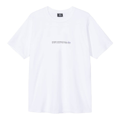 STÜSSY – FIRE PALM TEE (WHITE)