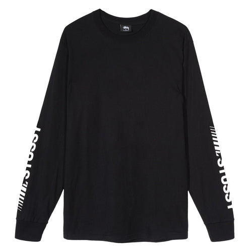 STÜSSY – CHAMPION LS TEE (BLACK)