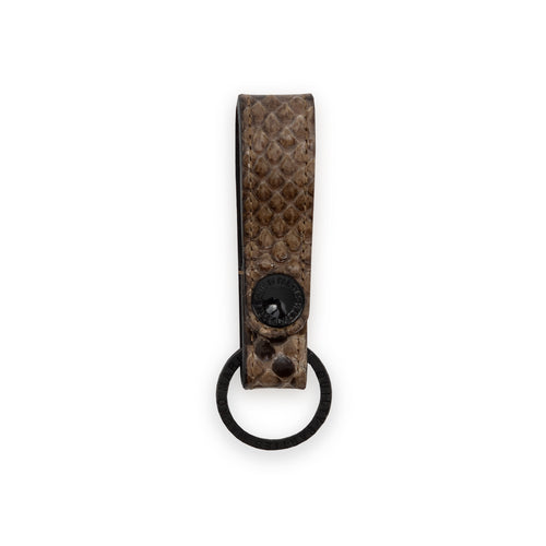 WACKO MARIA – STRUCTURE LEATHER KEY HOLDER GUILTY PARTIES (BEIGE)