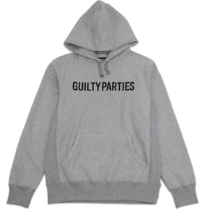 WACKO MARIA – GUILTY PARTIES HOODIE (GREY)
