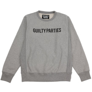 WACKO MARIA – GUILTY PARTIES SWEAT (GREY)