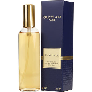 SHALIMAR Women Eau De Toilette Spray REFILL 3.1 OZ by Guerlain