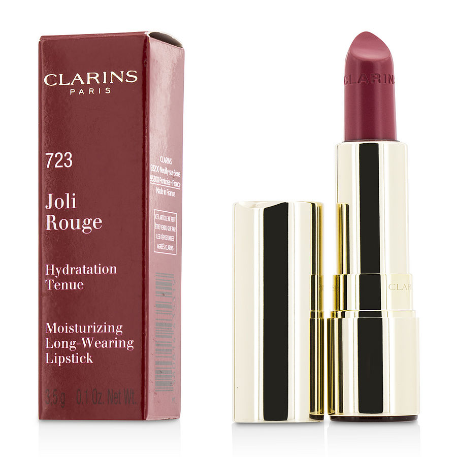 Clarins Women Joli Rouge (Long Wearing Moisturizing Lipstick) - # 723 Raspberry --3.5g/0.12oz by Clarins