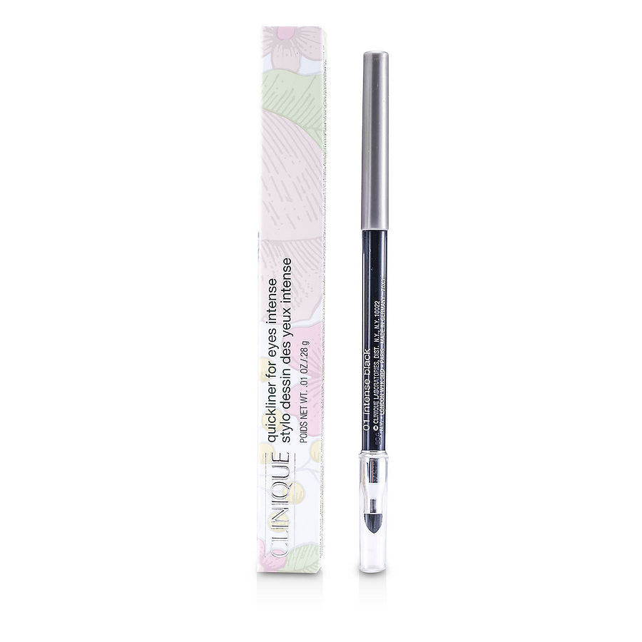 CLINIQUE Women Quickliner For Eyes Intense - # 01 Intense Black --0.28g/0.01oz by Clinique