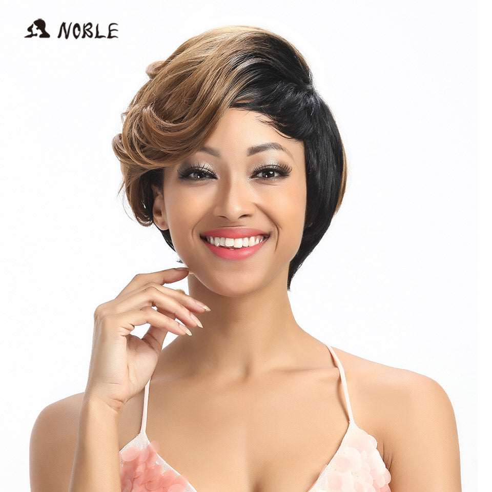 Synthetic Hair Wigs 10 Inch Short Wavy Blonde