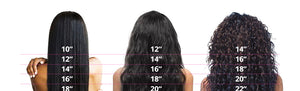 Liz'B' Brazilian Remy Hair 3 Bundles With Lace Frontal Closure Pre-Plucked Straight - LIZ'B'HAIR