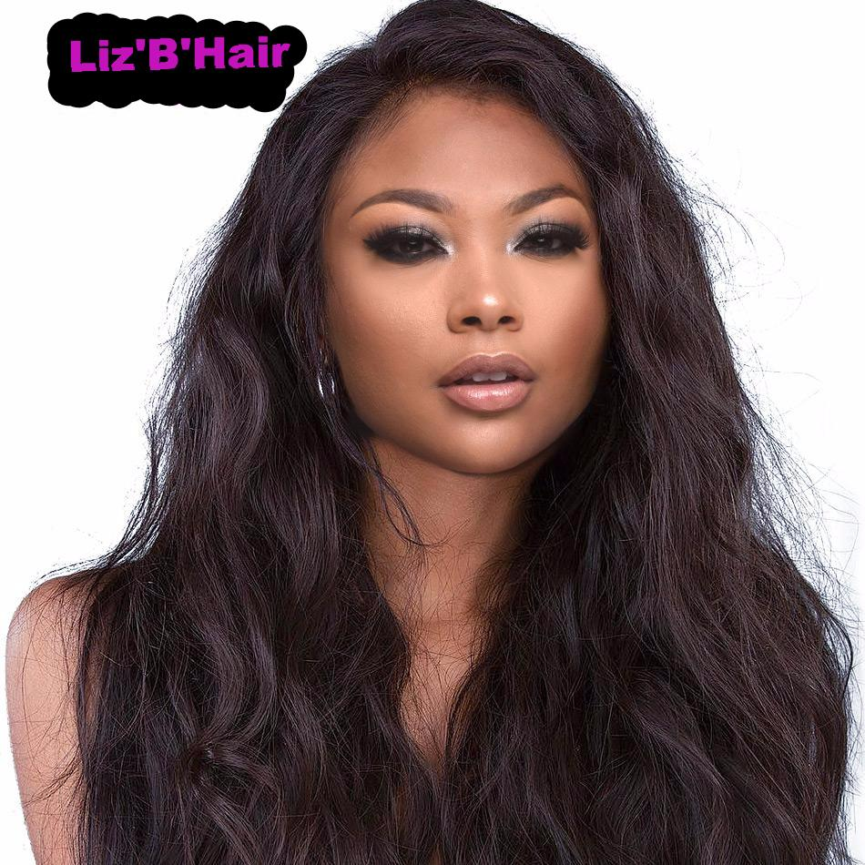 Liz'B' Brazilian Human Hair Lace Frontal Closure Body Wave 13*4 Bleached Knots Baby Hair Pre Pluched 100% Remy Hair - LIZ'B'HAIR
