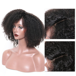 Afro Kinky Curly Wig 130% Density Glueless Full Lace Human Hair Wigs Pre Plucked With Baby Hair Brazilian Wig Sunny Queen Remy - LIZ'B'HAIR