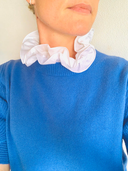 The 'Daphne' deux volants collar (Women's)