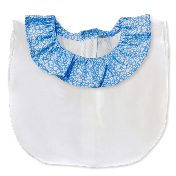 The 'Poppy' frill collar with white body (Women's)