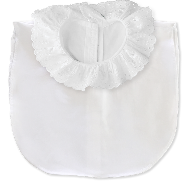 The 'Winnie' frill collar with white body (women's)