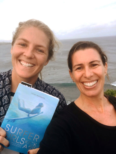 Surfer Girls Kick Ass Book with Stephanie Gilmore