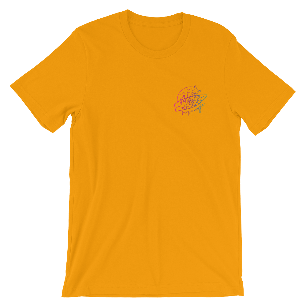 Surf + Magic - Short-Sleeve Unisex T-Shirt