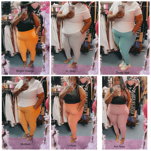Plus Size Cotton Sweatpants