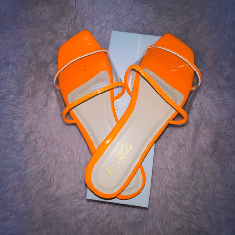 Orange Addiction Sandals