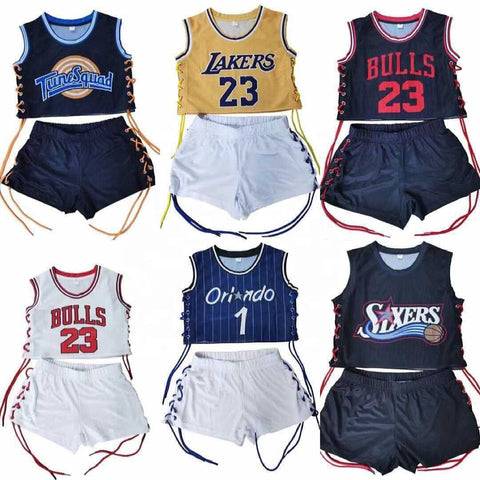 Inspired Jersey short sets