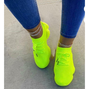 Neon Yellow Charlies