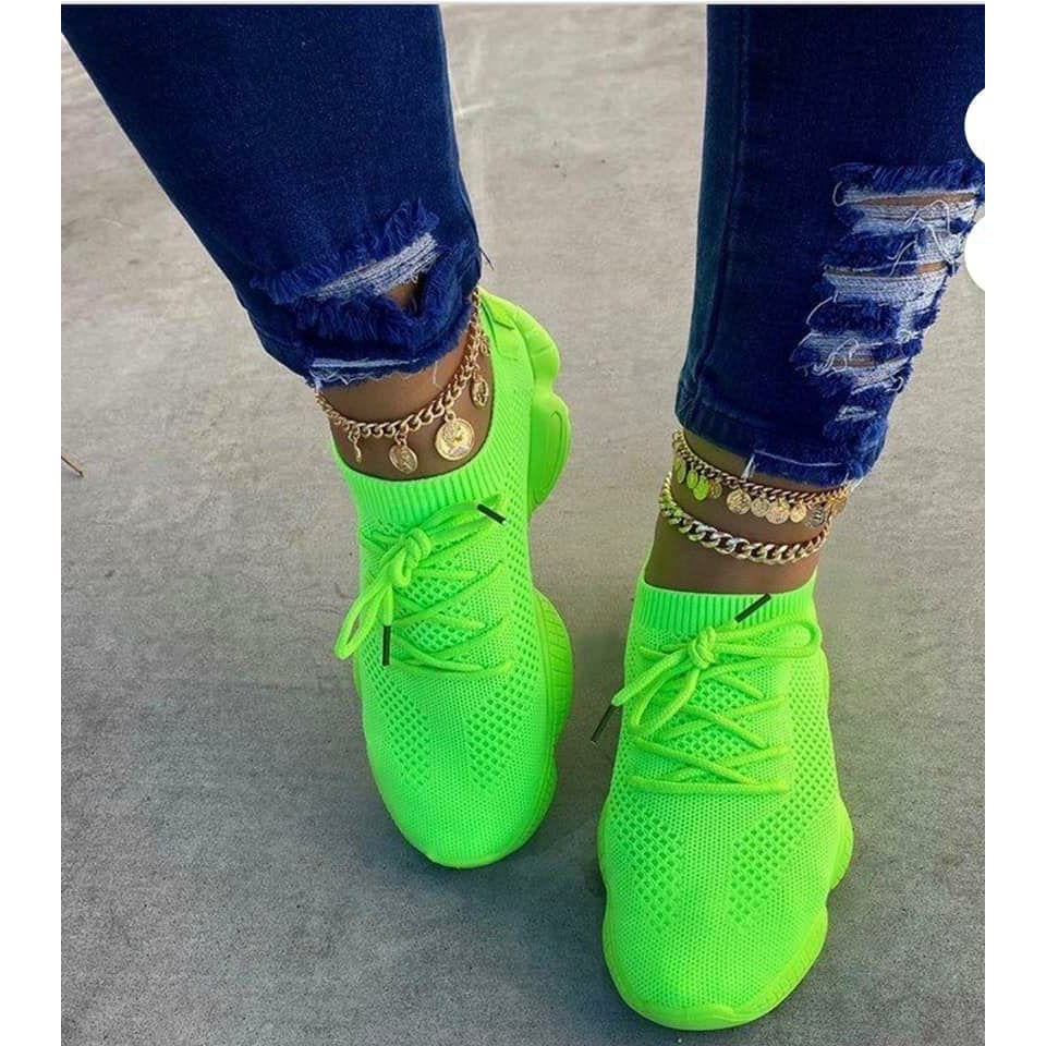 Lime green Charlie's