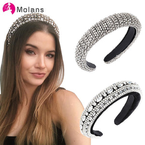 Sparkly Padded Rhinestones Headbands