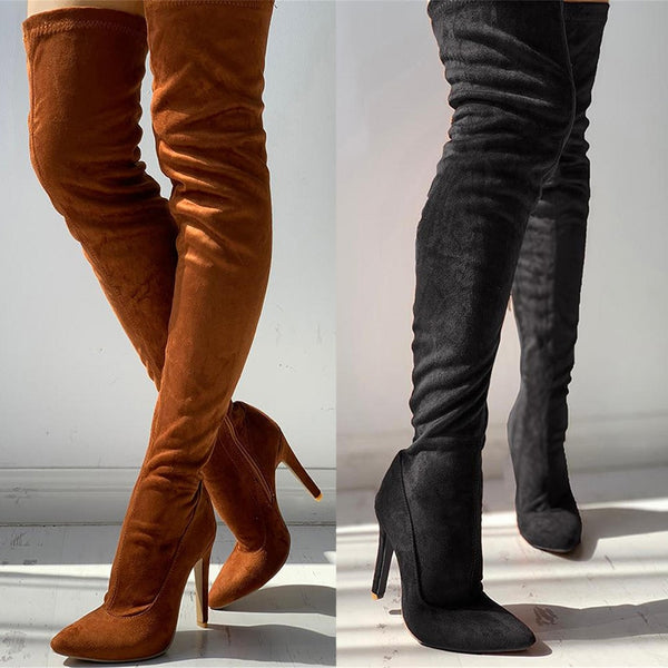 Women's shoes Boots thin High heels