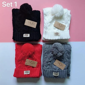 Ugg Scarf Set (ONLY)