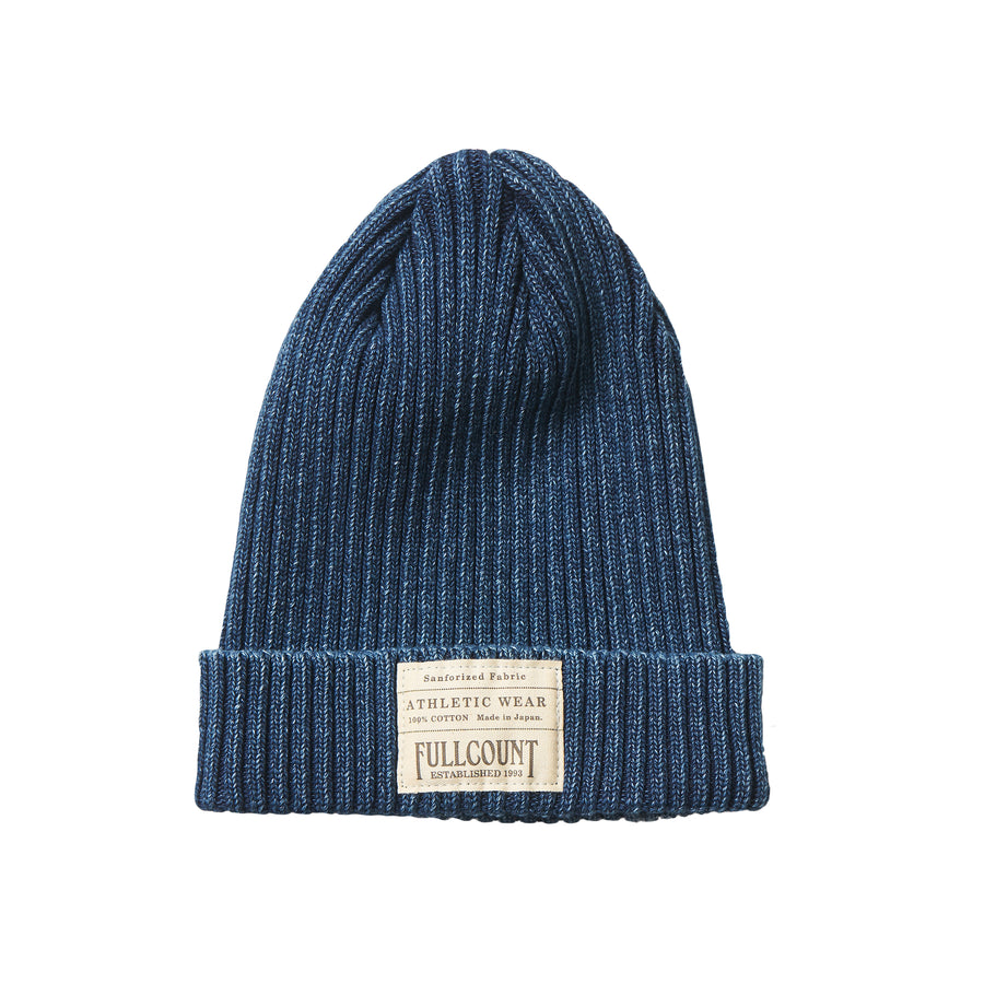 Ribbed Watch Cap - Indigo
