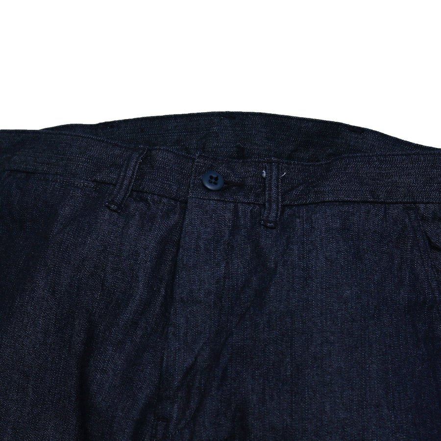 1002-1 - Denim Tapered Trousers -
