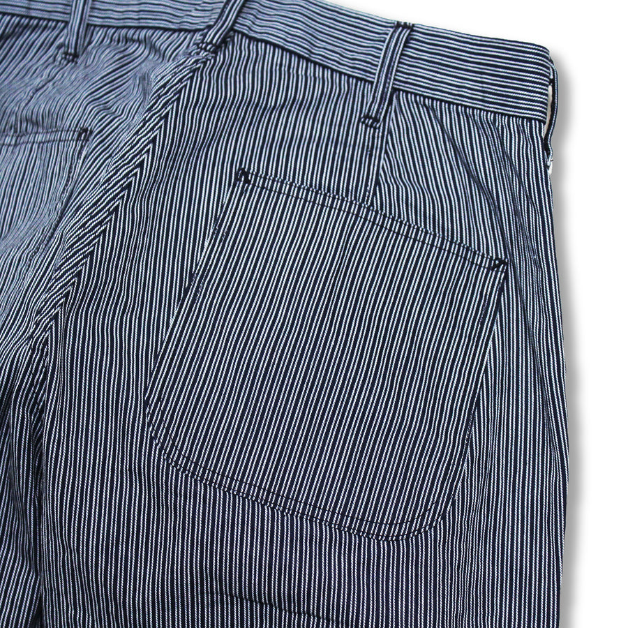 1002-3 - Random Hickory Tapered Trousers -