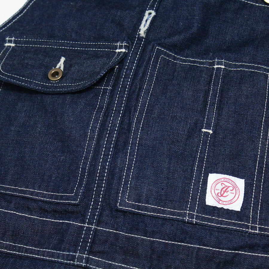 1005 - Denim Bib Overalls -