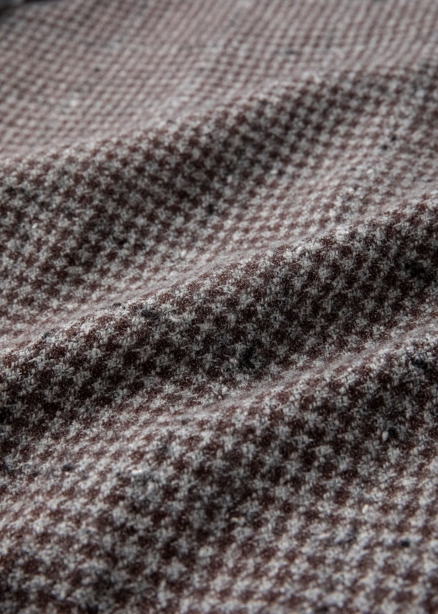 Houndstooth Blanket Lined Type 1 Jacket