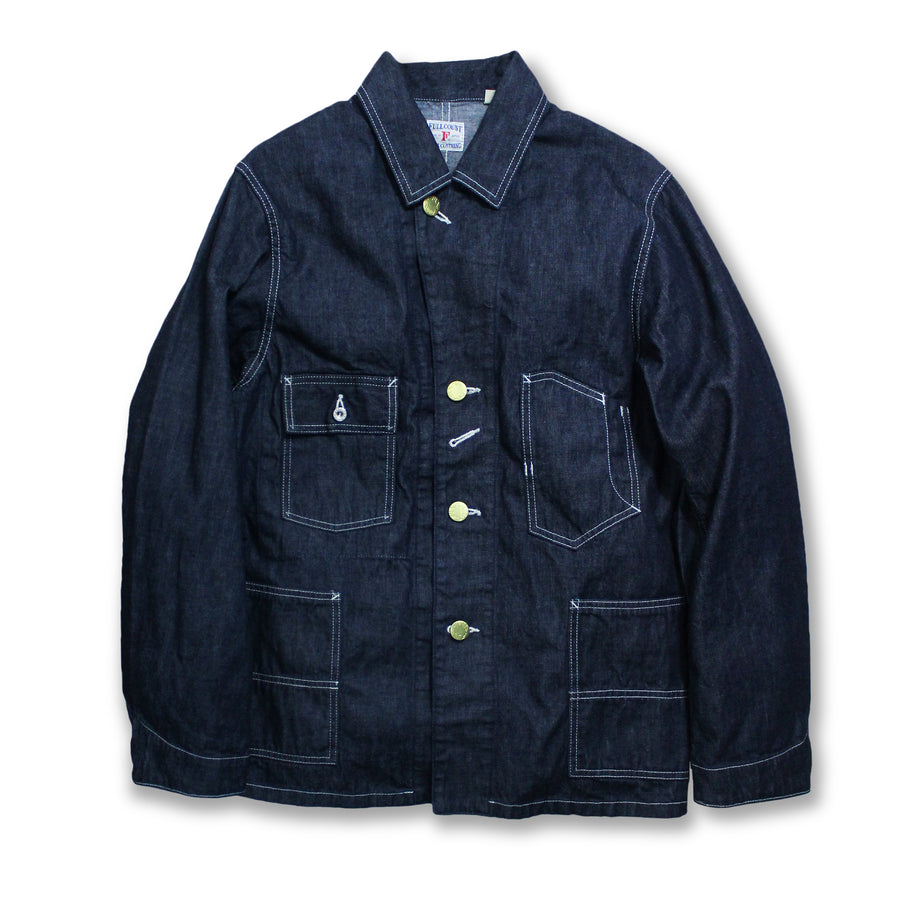 2953-1 - Denim Coverall Jacket -