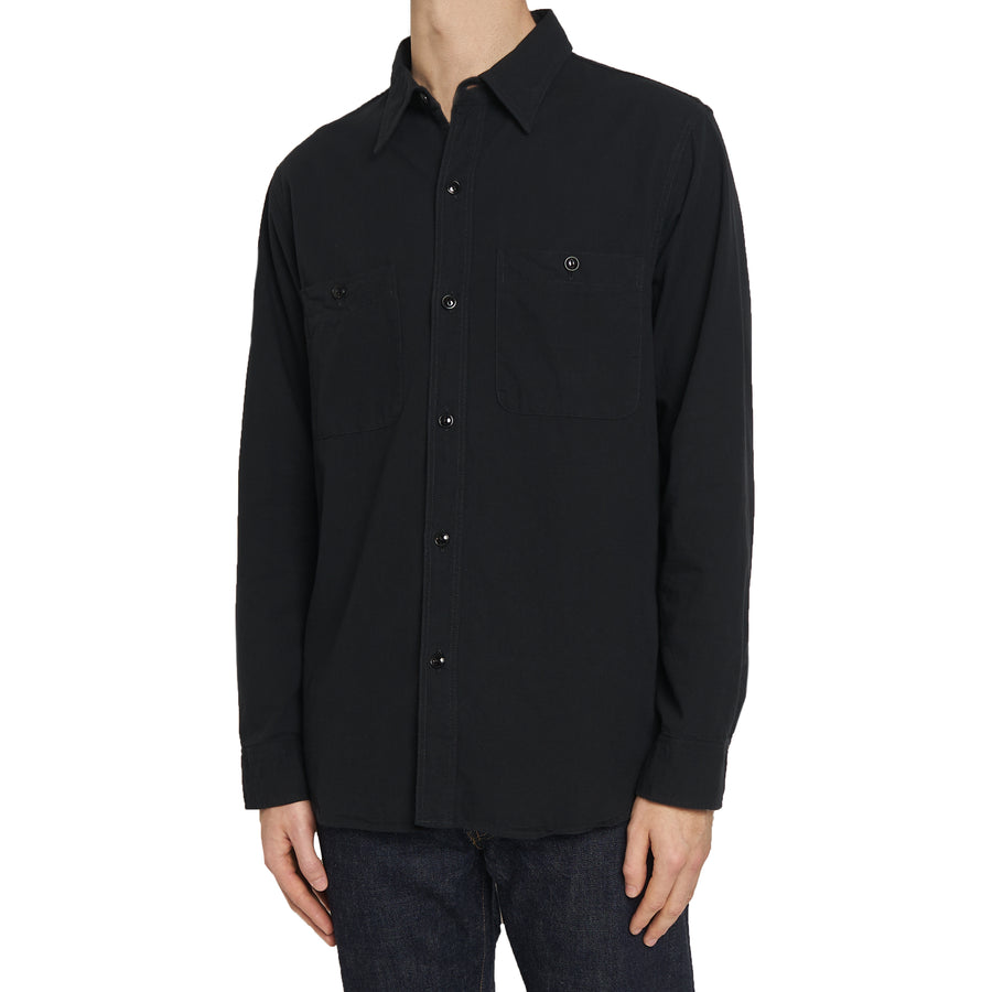4810 - Chambray Shirt - Black