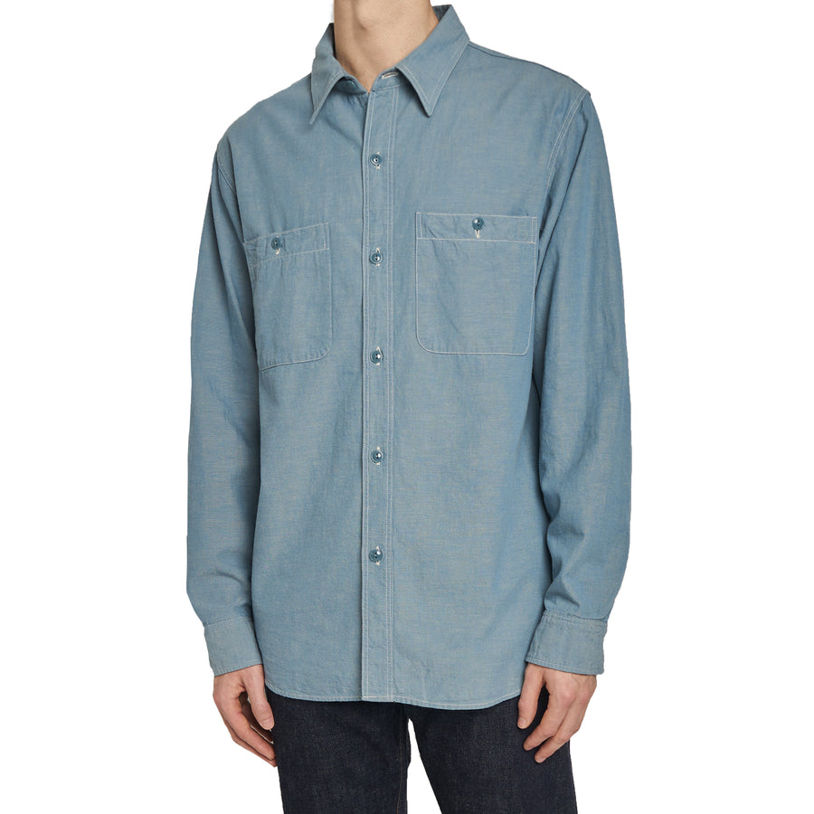 4810 - Chambray Shirt - Blue