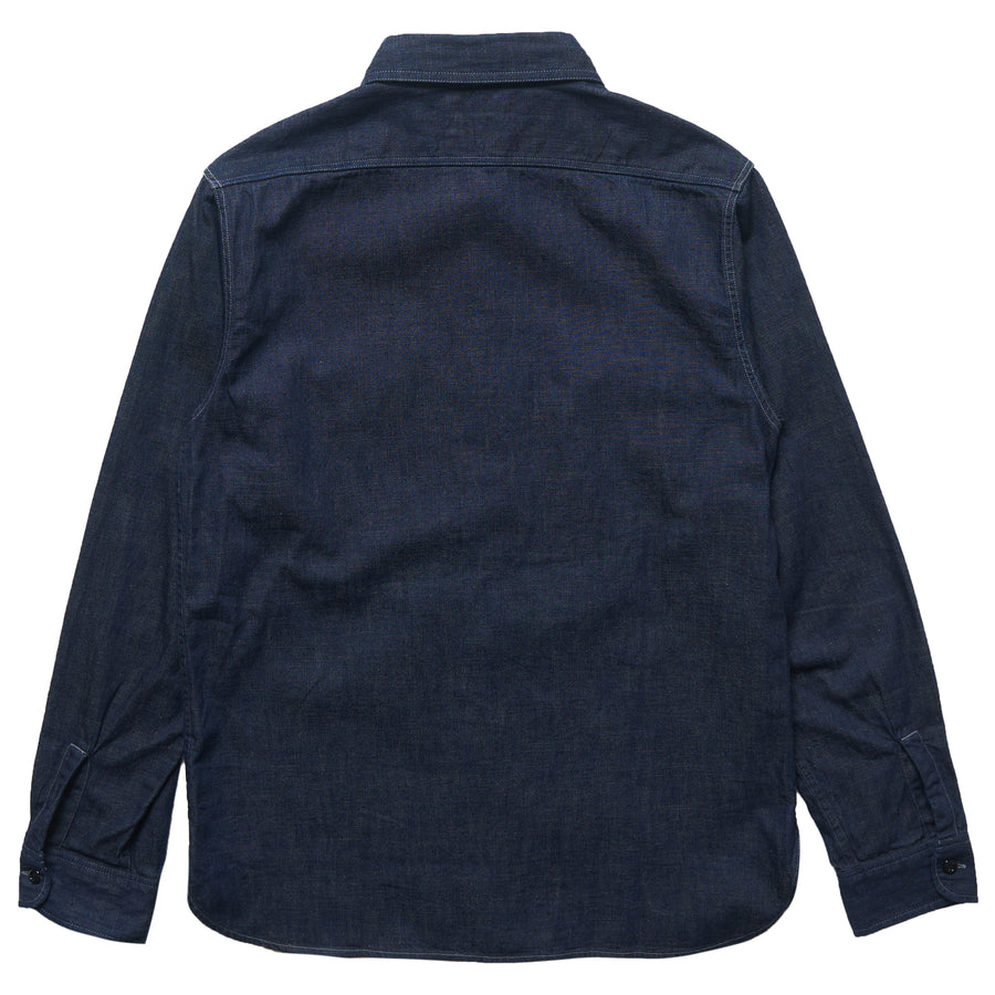 4890 - Denim Work Shirt